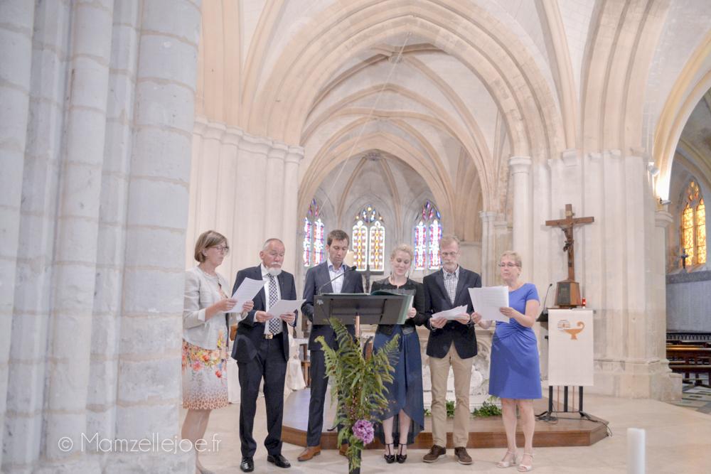 Une chorale de proches pour notre mariage participatif