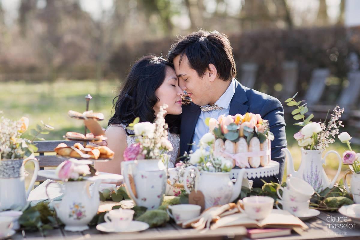 Le mariage en toute intimité et simplicité de Yen