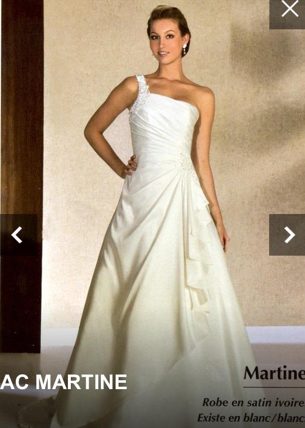 Mes essayages de robe plus d'un an à l'avance : modèle Martine
