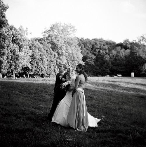 Photos de groupe dans le parc