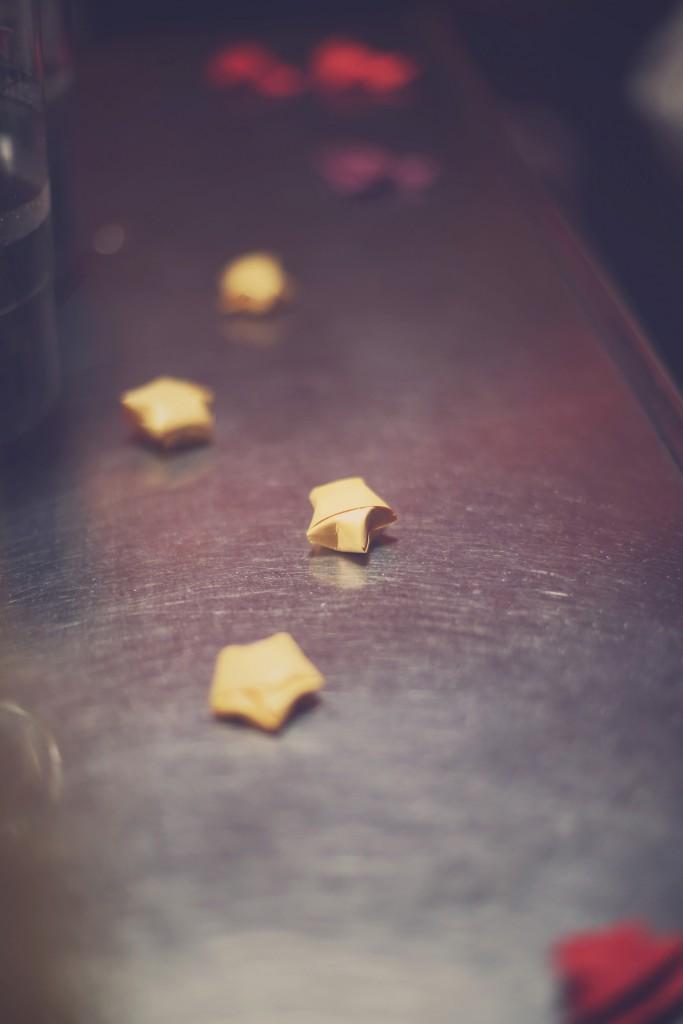 Mes étoiles en origami / photo : BabouchKAtelier