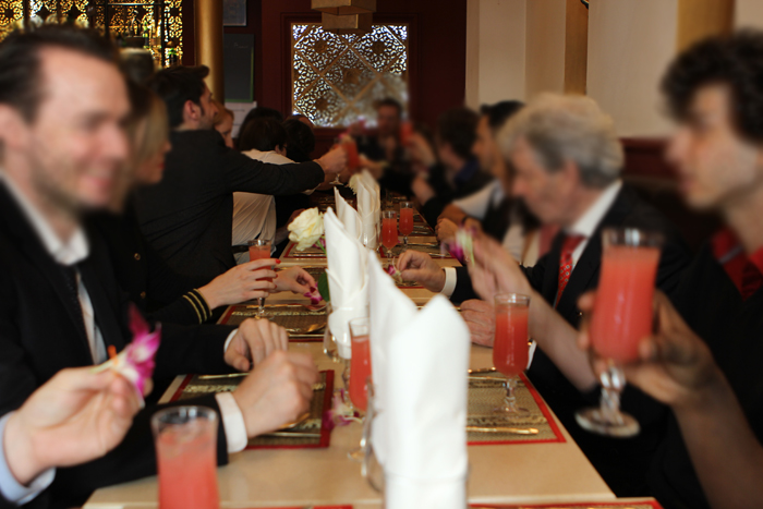 Mon mariage civil parisien en petit comité : le déjeuner