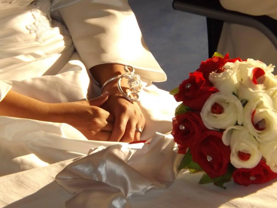 Le mariage de Stéphanie, à petit budget, sur le thème sur l'amour