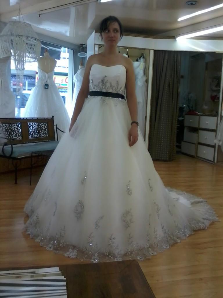 Mes premiers essayages de robes