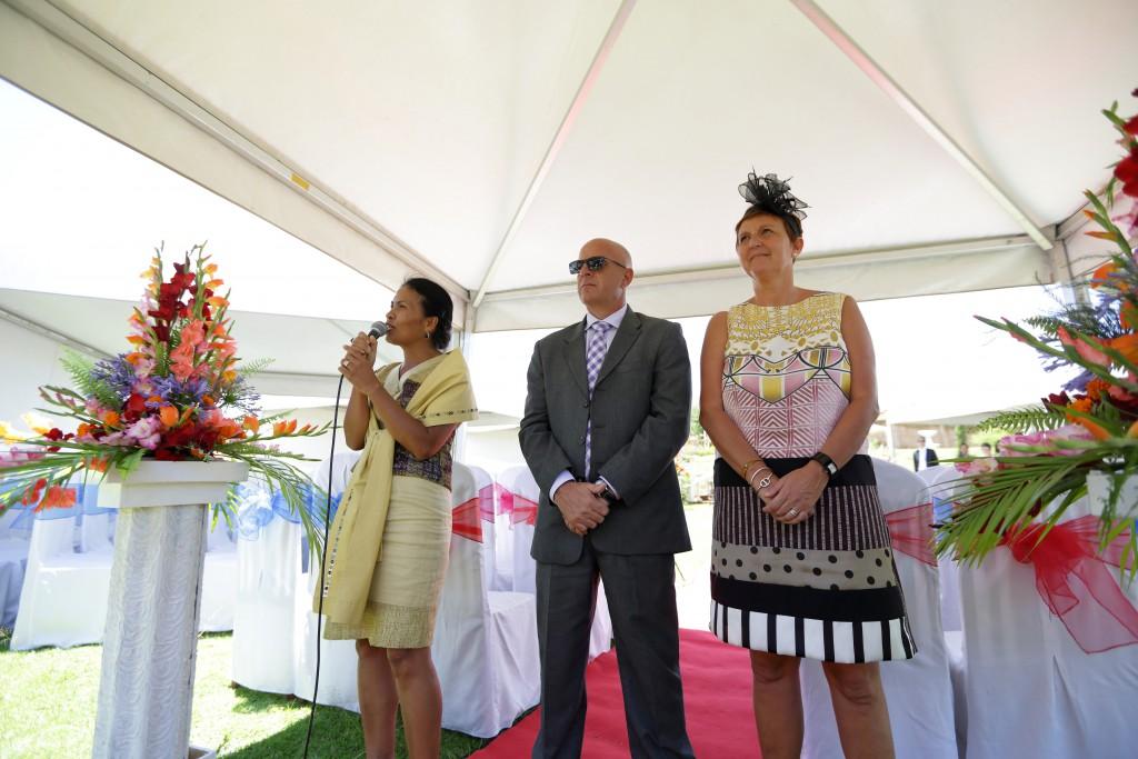 Notre cérémonie traditionnelle malgache avec le vodiondry // Photo : Ymagoo