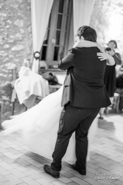 Notre première danse pour l'ouverture du bal // Photo : Freddy Frémond