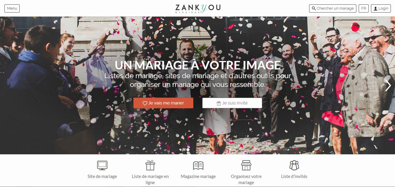 Gagne le site Internet de ton mariage 100 % personnalisé avec Zankyou : les résultats du concours