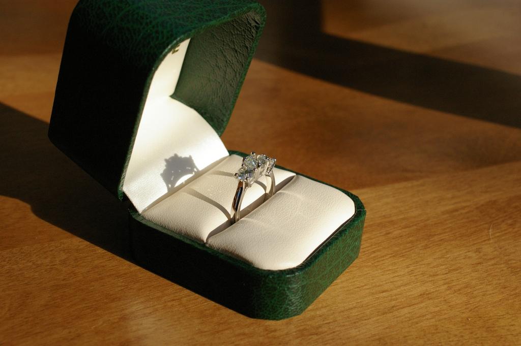 Histoire d'une bague de fiançailles
