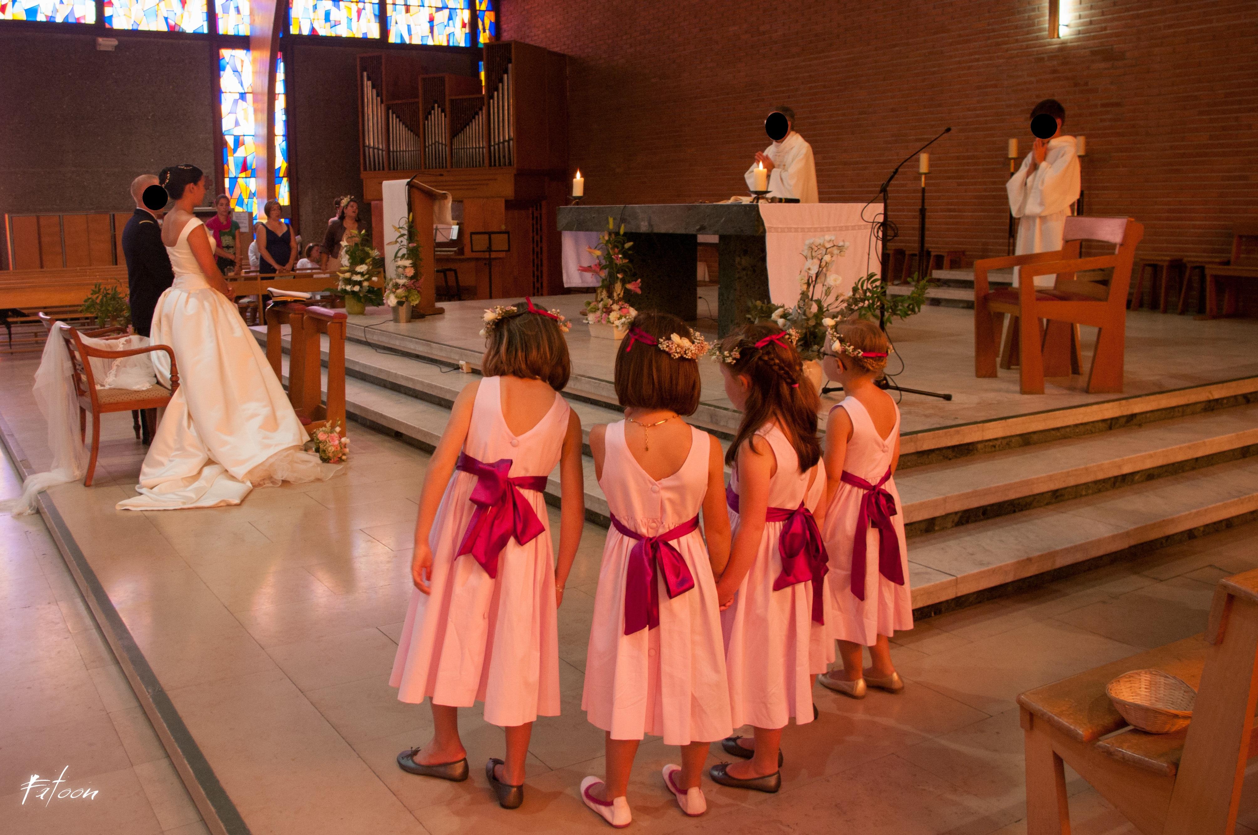Mon mariage «partons en voyage» : la cérémonie à l'église