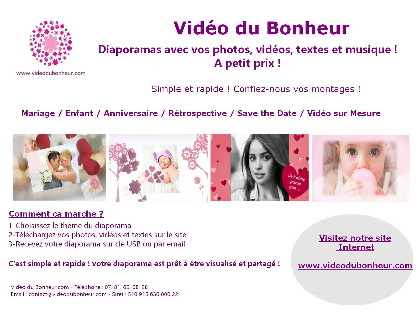 Vidéo du Bonheur.com