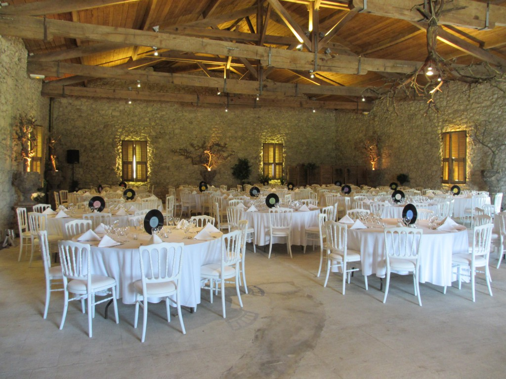 Notre visite de salle pour le mariage au domaine la Belle Vie de Château en Gascogne