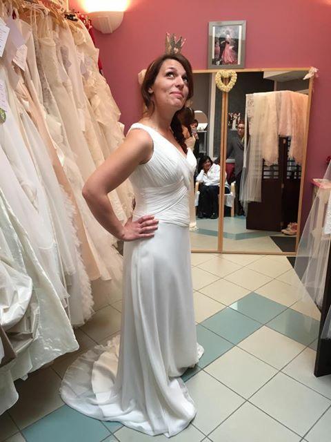 Le dernier essayage de ma robe