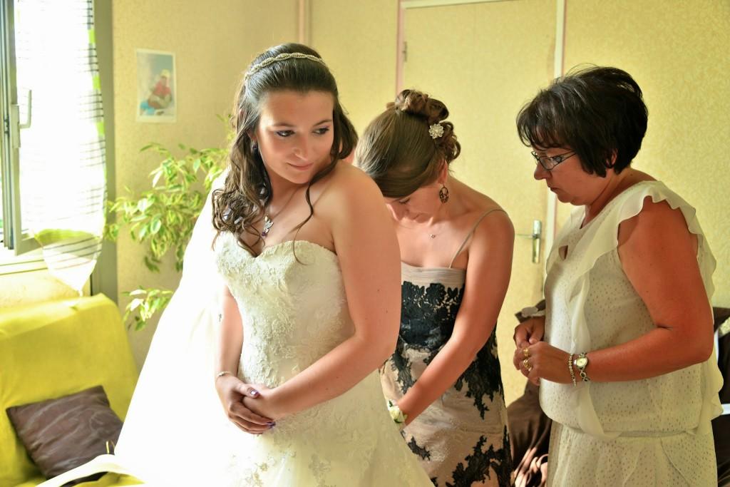 Le mariage de Mme Potter sur le thème des oiseaux en violet, blanc et argent (13)