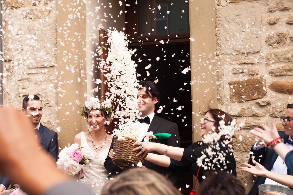 Le mariage de printemps, romantique et floral, de Mme la Rose (6)