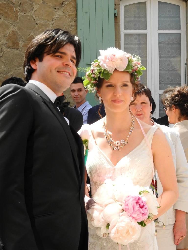 Le mariage de printemps, romantique et floral, de Mme la Rose (8)