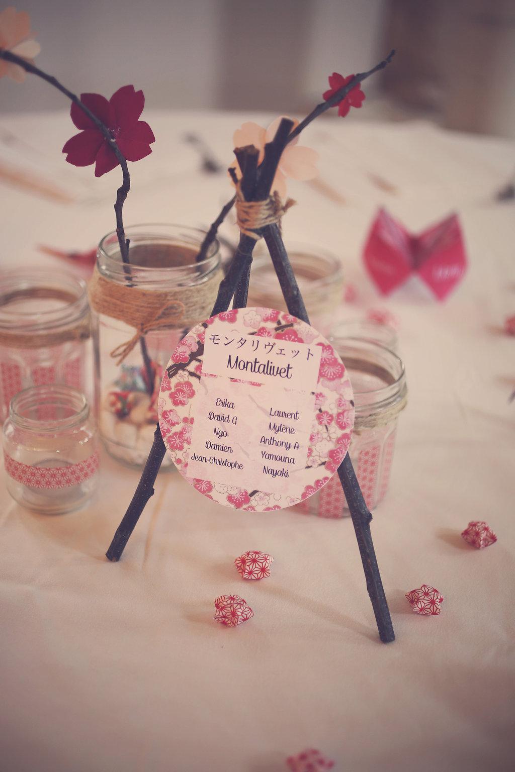 Mon mariage en hiver et en origami : la question du plan de table…