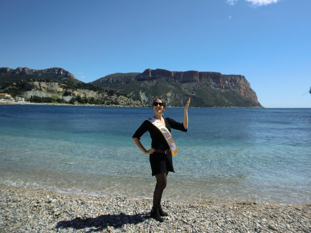 Séance photo sur la plage pour mon EVJF !