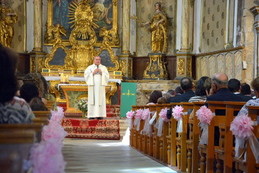 Le mariage champêtre romantique de Cécile avec une touche de rose (10)