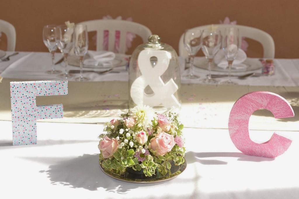 Le mariage champêtre romantique de Cécile avec une touche de rose (20)