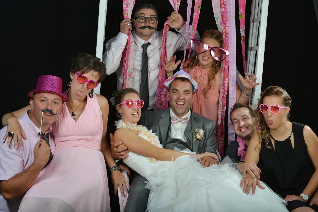 Le mariage champêtre romantique de Cécile avec une touche de rose (24)