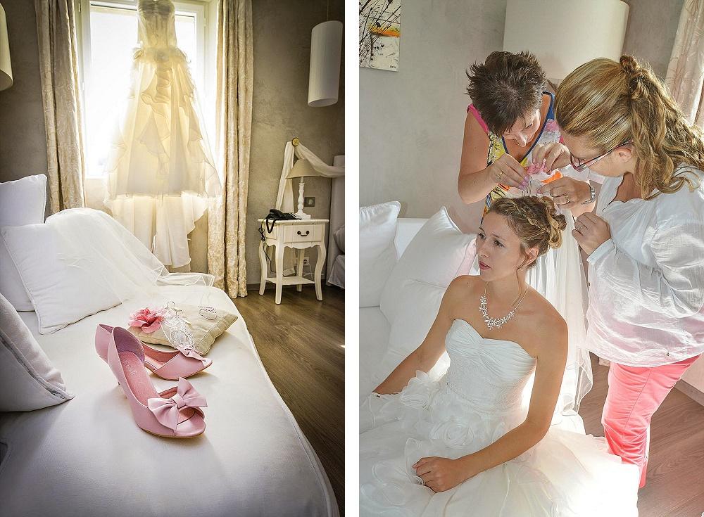 Le mariage champêtre romantique de Cécile avec une touche de rose (3)