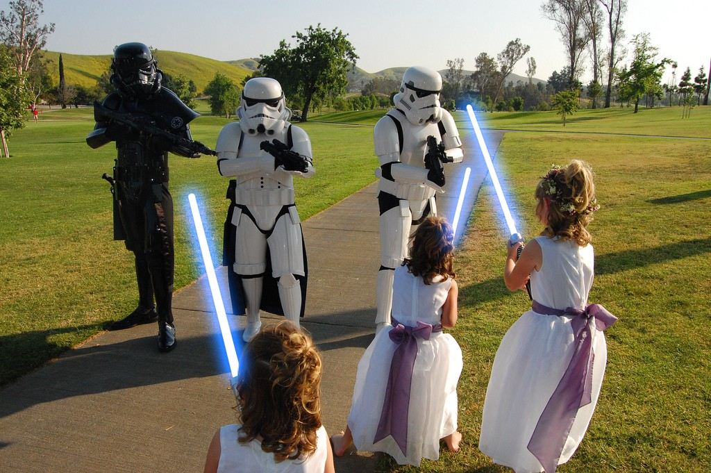 Un mariage thème Star Wars !
