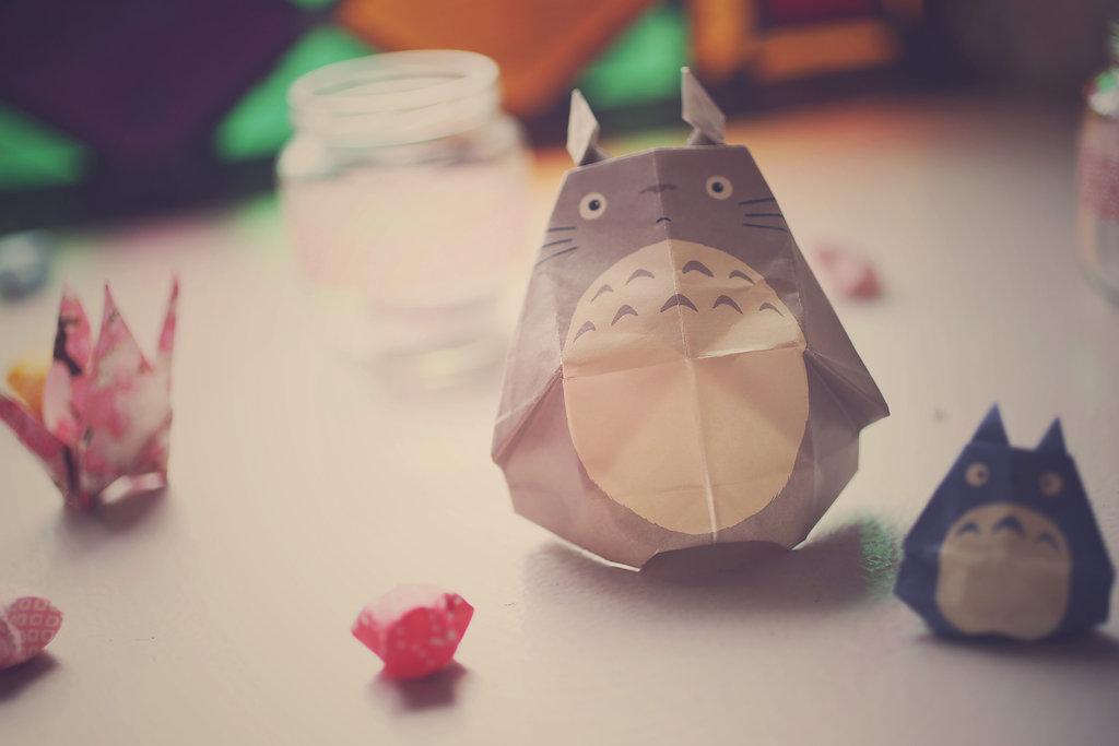 Mon mariage en hiver et en origami : la décoration de la salle et des tables