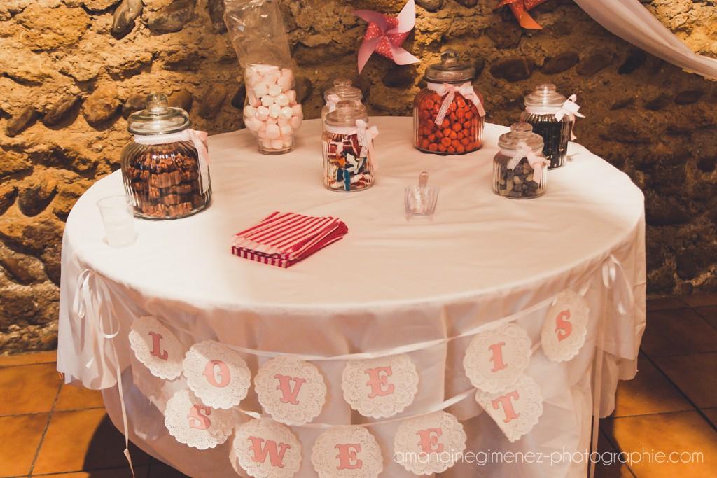 Le candy-bar // Photo : Amandine Gimenez