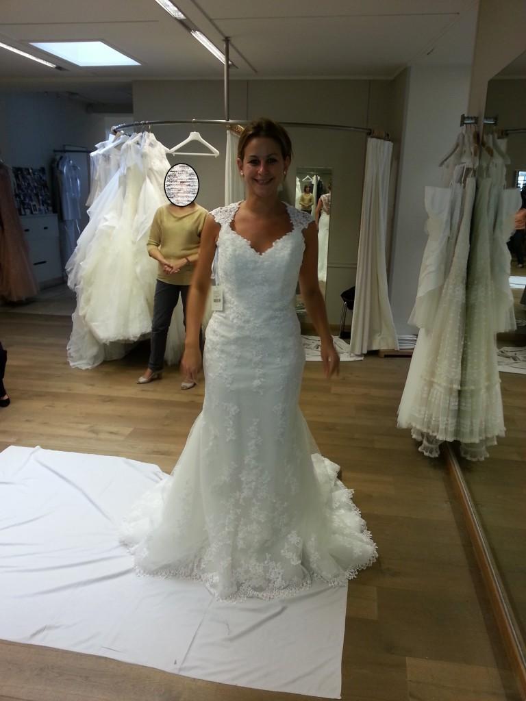Mes essais de robe : modèle Laren de Pronovias