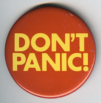 Stress et panique à l'approche du jour J !