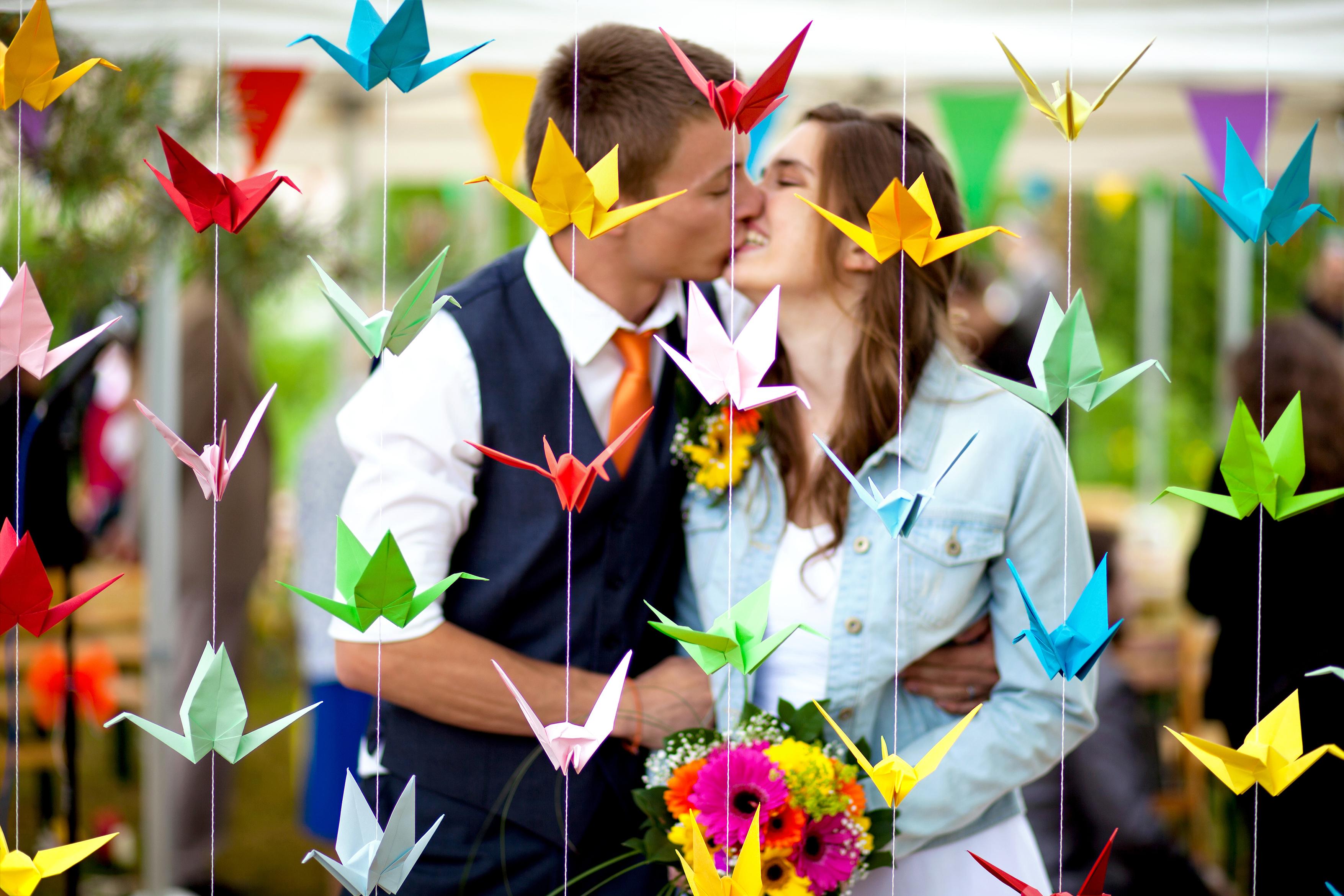 Mon mariage pétillant : la cérémonie laïque dans notre jardin, côté émotion