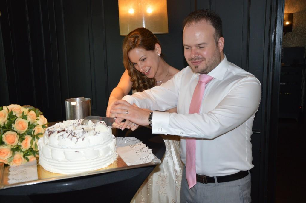 Gateau glacé pour notre mariage civil