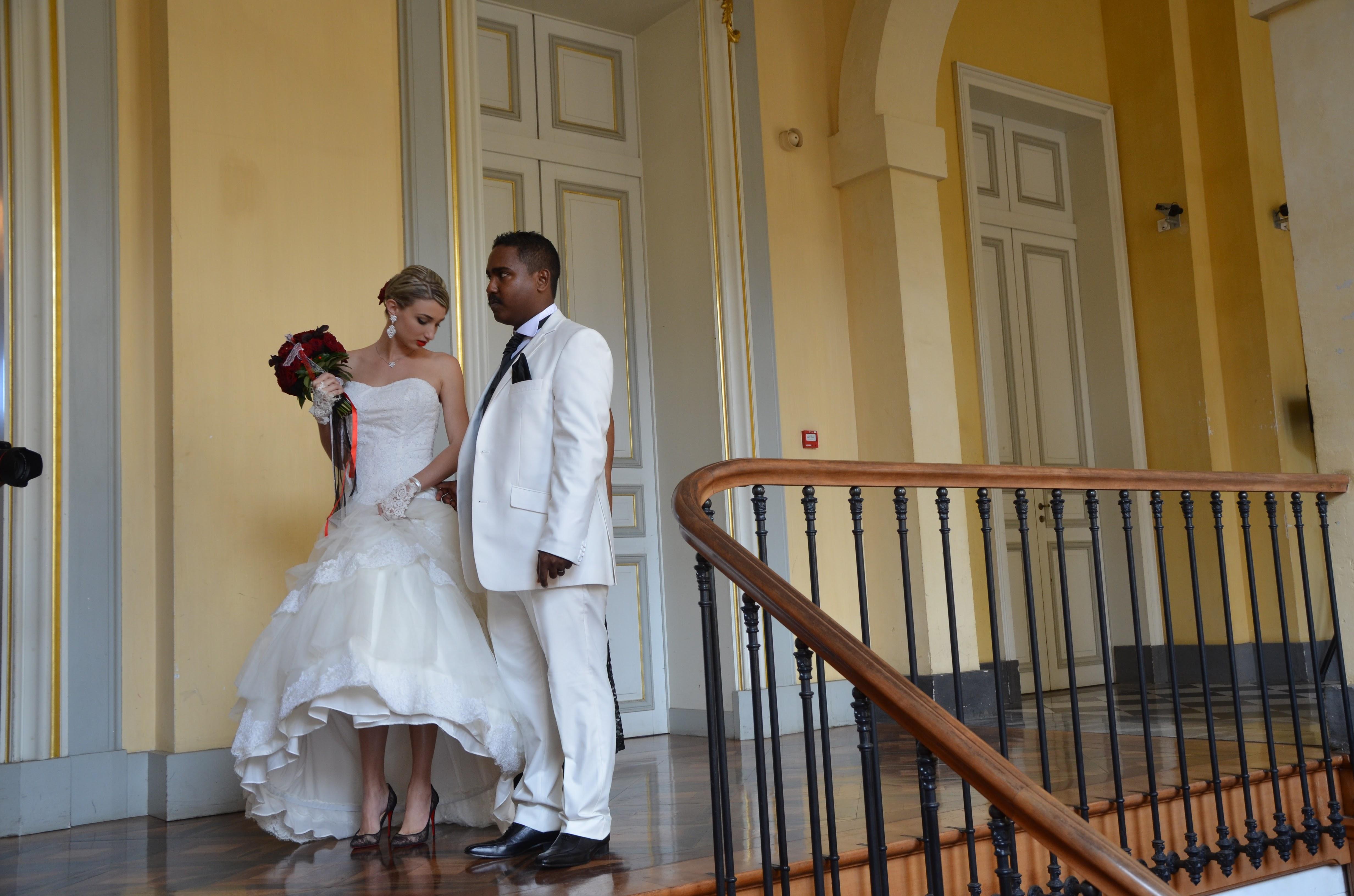Le mariage chic et réunionnais de Virginie