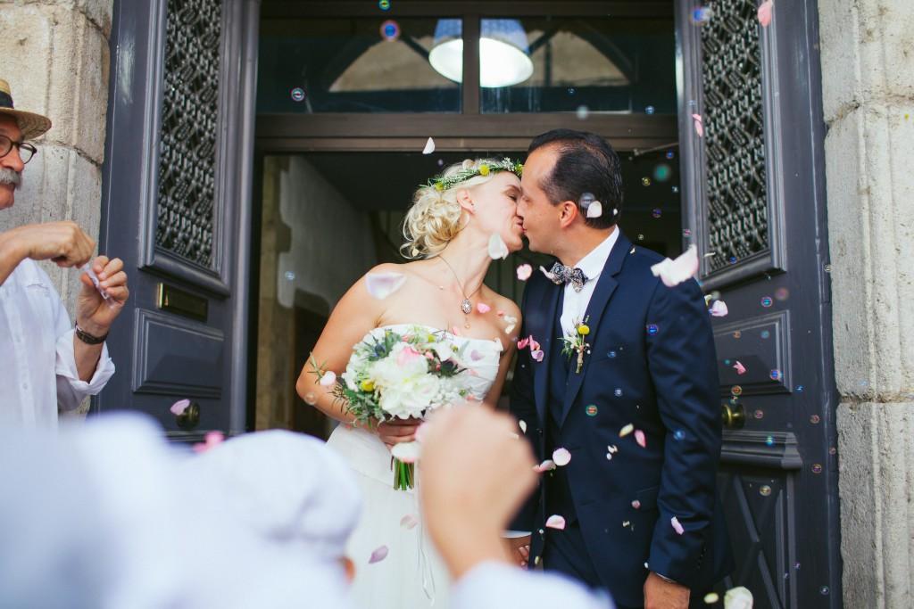 Le mariage rétro-champêtre, loin de chez eux, de Mme Vintage (3)