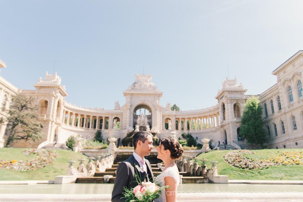Nos photos de couple au Palais Longchamp // Photo : Amandine Gimenez