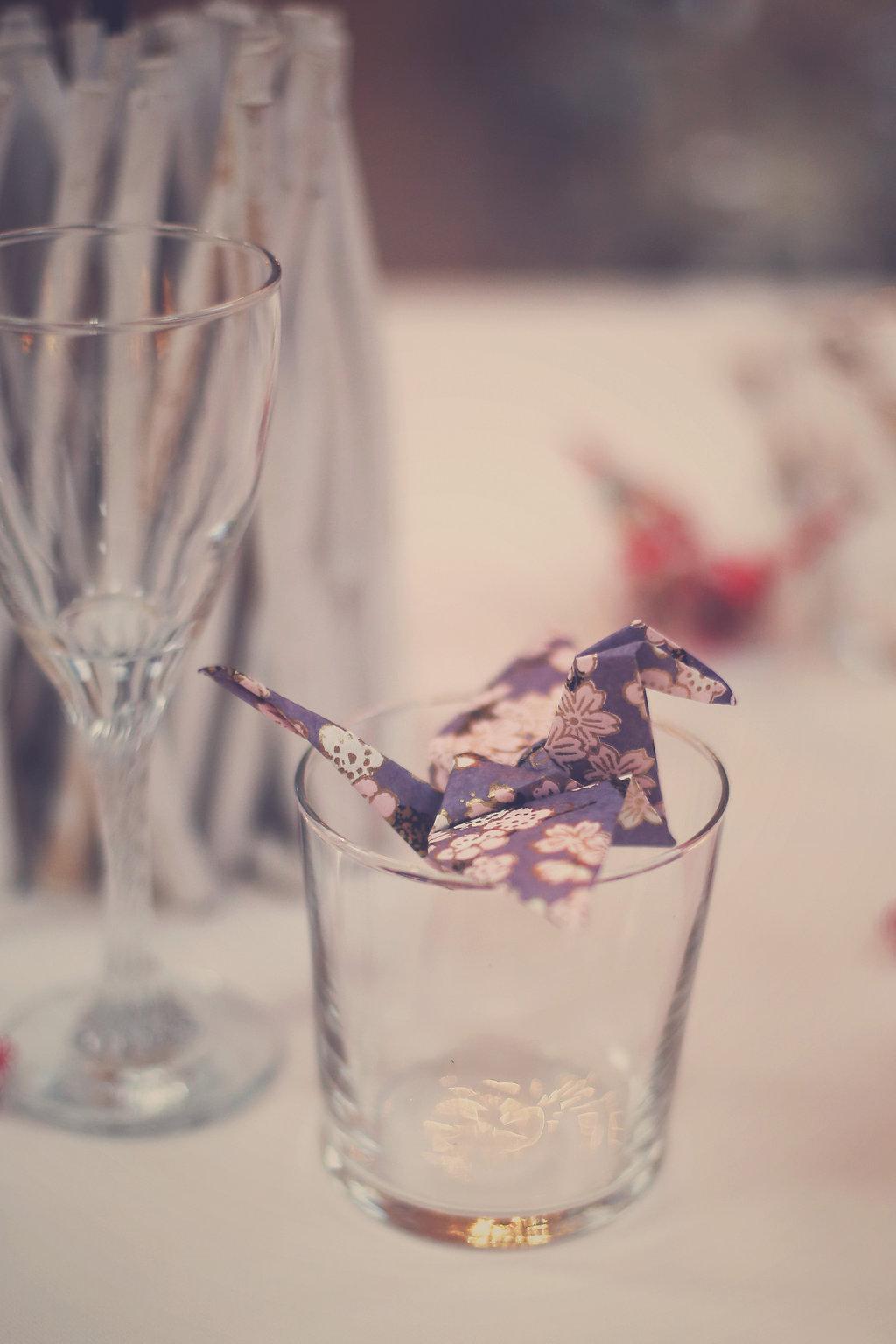Mon mariage en hiver et en origami : que faire de sa déco après son mariage ?