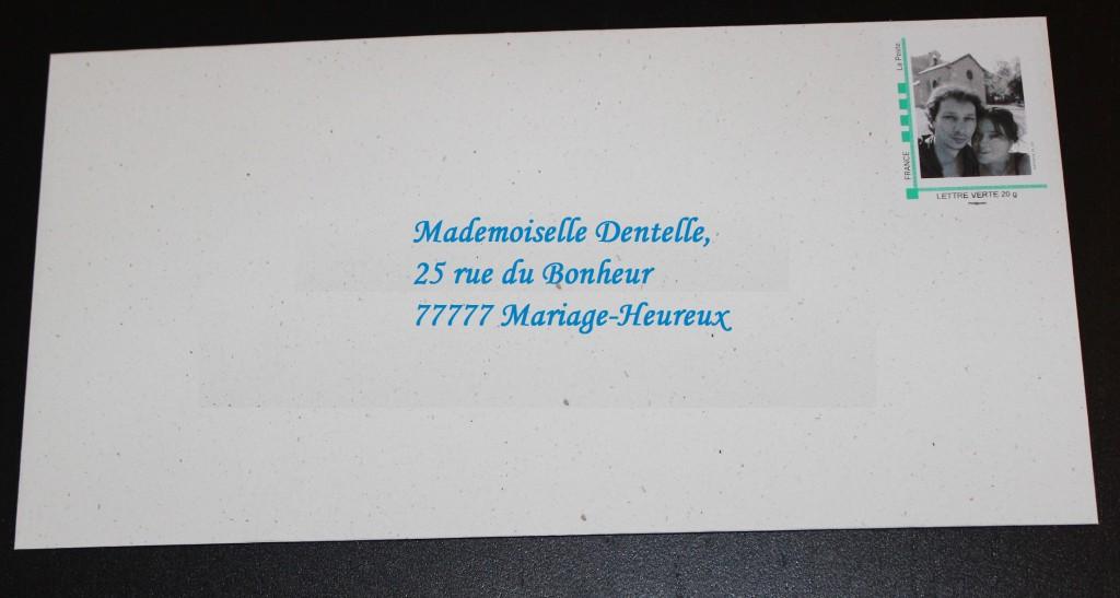 Nos faire-part et timbres personnalisés, sur le thème de l'hiver