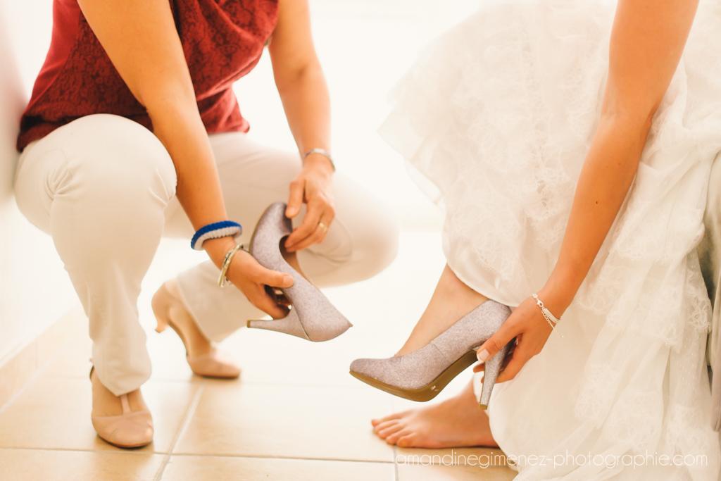 Mon mariage champêtre sur une note de romantisme : nos tenues