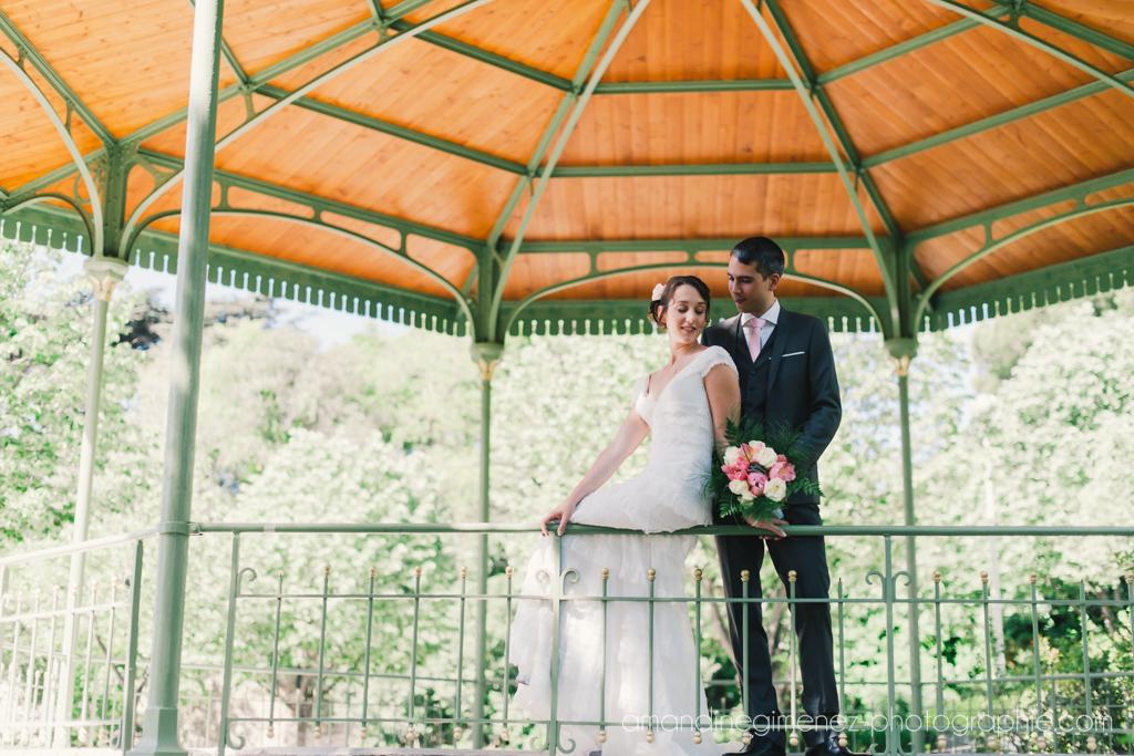 Mon mariage champêtre avec une note de romantisme : les photos de couple dans le parc…
