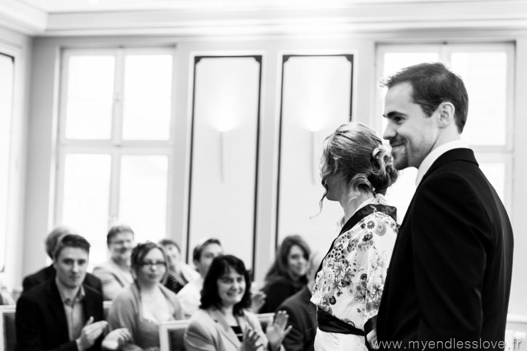 Passage à la mairie et cérémonie civile // Photo : My Endless Love