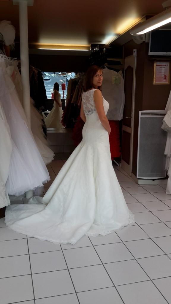 Mes essais de robe à Besançon