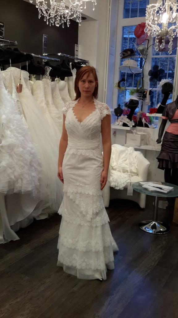 Mes essais de robe à Besançon, marque Cymbeline