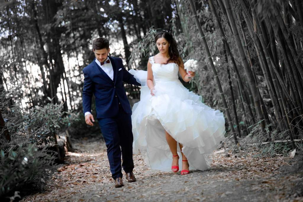 Le mariage d'Émilie avec une cérémonie laïque, beaucoup d'amis et des surprises en pagaille (11)