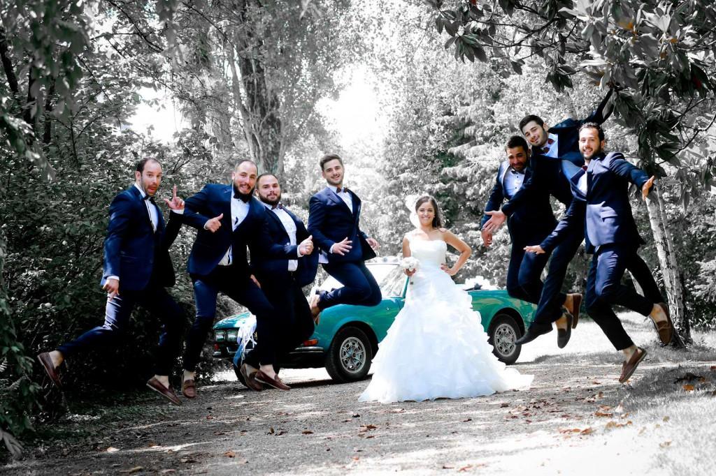 Le mariage d'Émilie avec une cérémonie laïque, beaucoup d'amis et des surprises en pagaille (14)