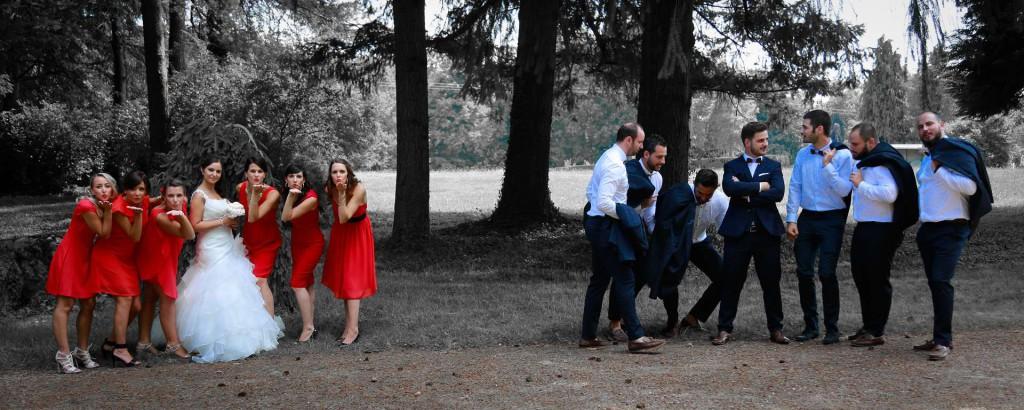 Le mariage d'Émilie avec une cérémonie laïque, beaucoup d'amis et des surprises en pagaille (15)