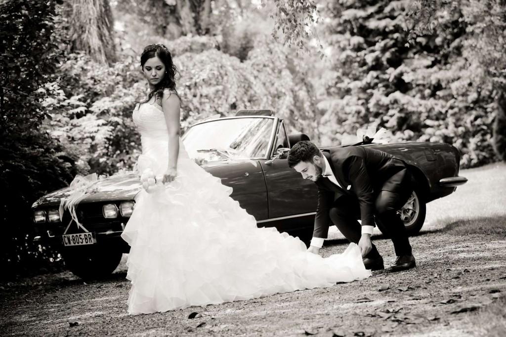 Le mariage d'Émilie avec une cérémonie laïque, beaucoup d'amis et des surprises en pagaille (7)