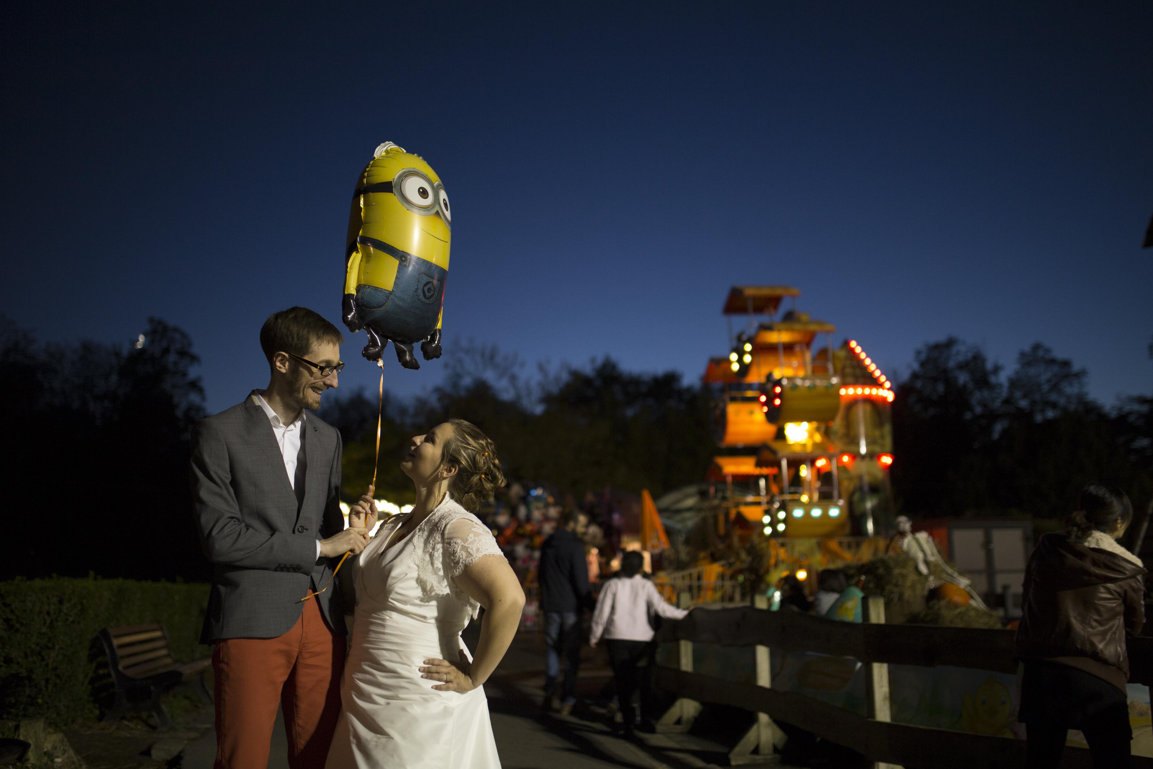 Le mariage vitaminé de Mademoiselle Orange dans le Nord