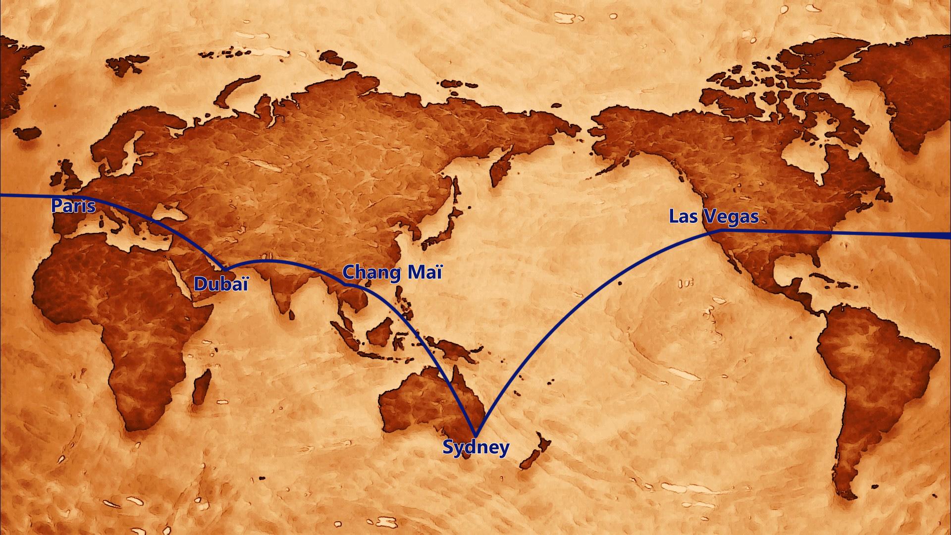 Mon mariage traditionnel à paillettes : notre voyage de noces «tour du monde» – Partie 1