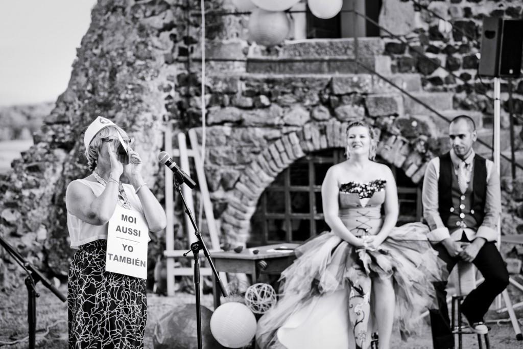 Déroulé de notre cérémonie laïque // Photo : Pierre Grasset