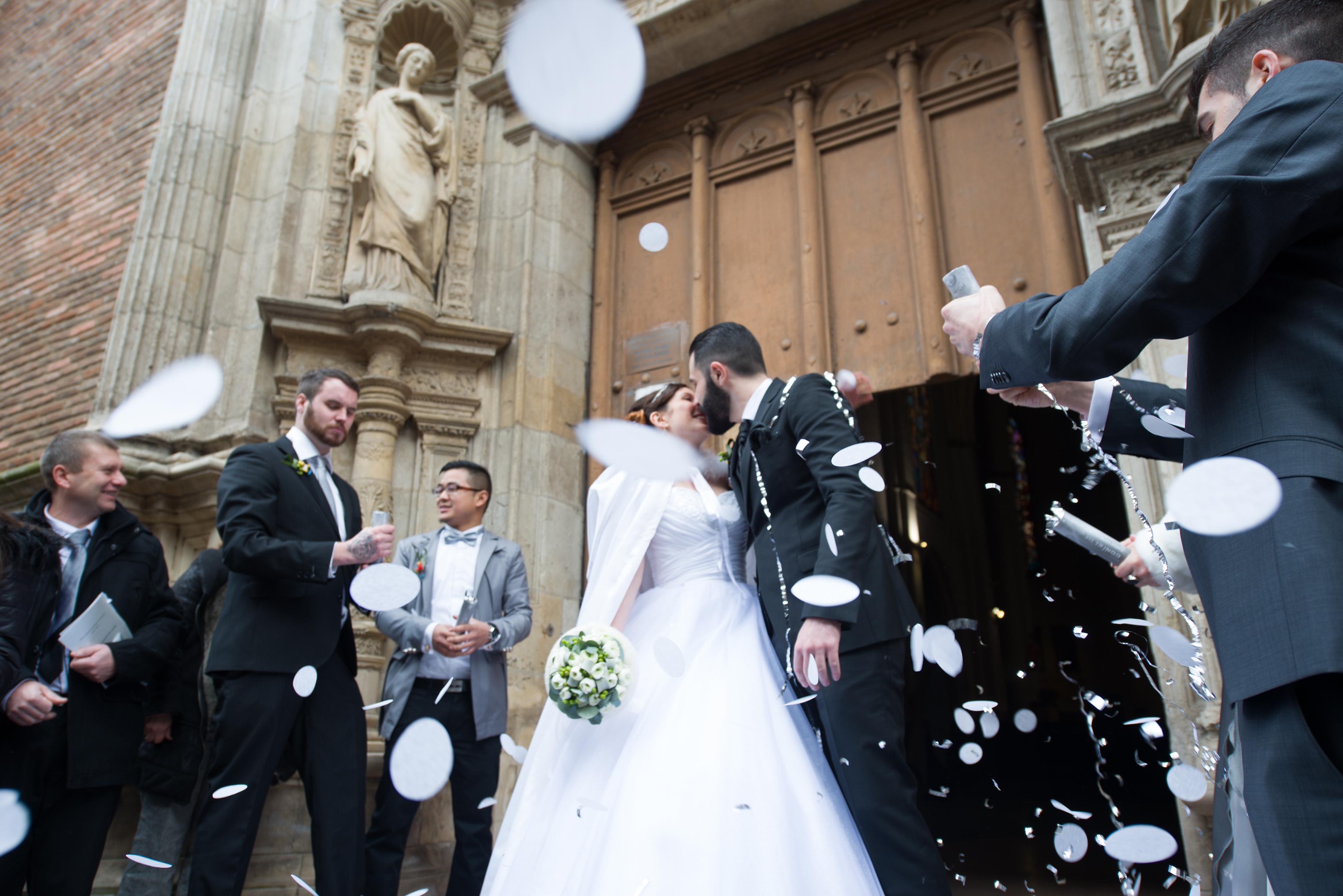 Mon mariage de Reine des Neiges : la cérémonie